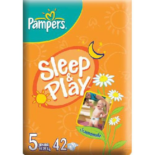 Scutece Sleep and Play 5 (11-25 kg) 42 buc