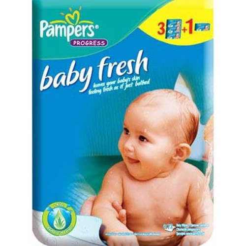 Servetele Baby Fresh 3+1