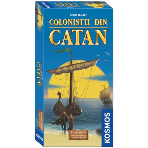 Colonistii din Catan -Extensie Navigatorii 5-6 Jucatori