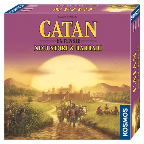 Colonistii din Catan -Extensie Negustori si Barbari 3-4 Jucatori