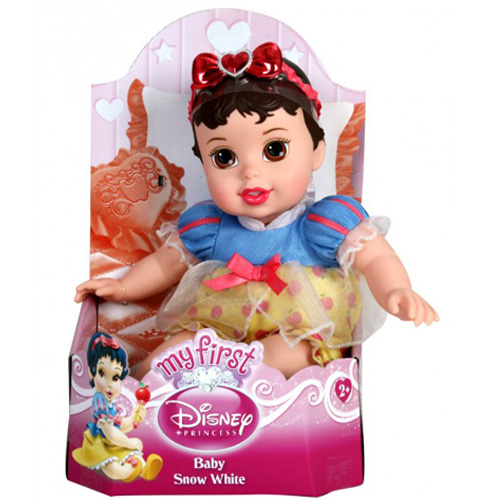 Papusa My First Disney Baby Princess - Alba ca Zapada