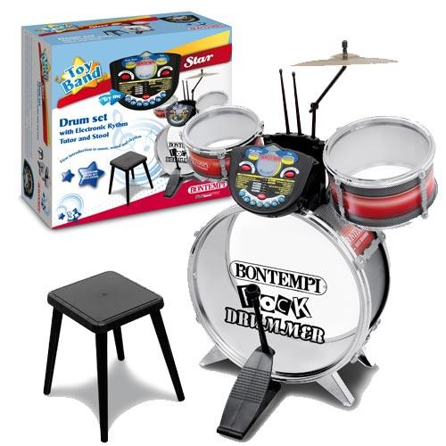 Set Tobe Rock Drummer cu Panou Electronic