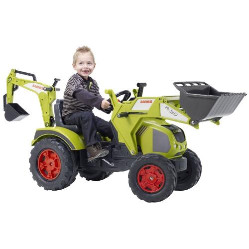 Tractor Claas Axos cu Excavator si Cupa