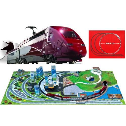 Trenulet Electric Thalys cu Macheta