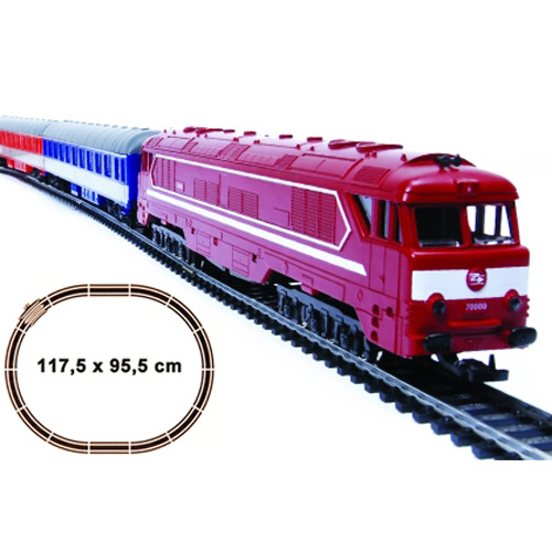 Trenulet Electric Euro Special