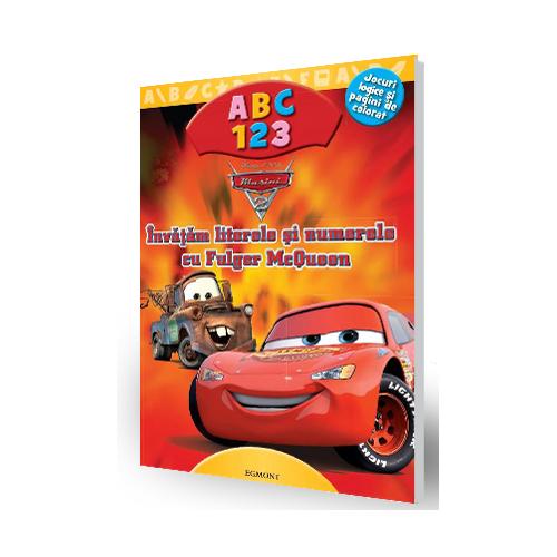 Carte Cars 2 - Invatam literele si numerele cu Fulger McQueen