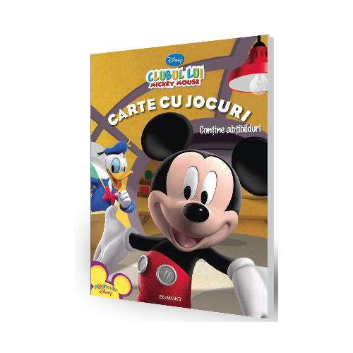 Clubul lui Mickey Mouse - Carte cu Jocuri