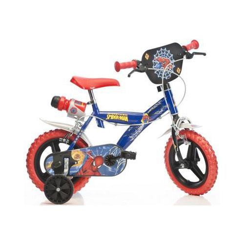 Bicicleta 123GL Seria Spiderman