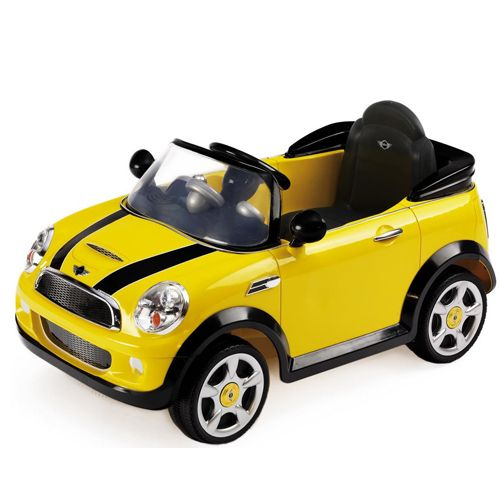 Masinuta Mini Cooper Yellow