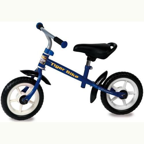 Bicicleta fara Pedale Tiger Bike Blue