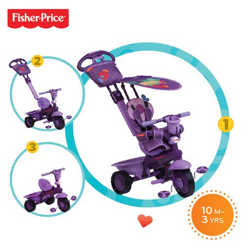 Tricicleta 3 in 1 Royal Violet
