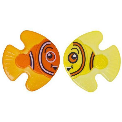 Jucarie Dentitie Nurture Fishy Friend, 2 buc, 0+