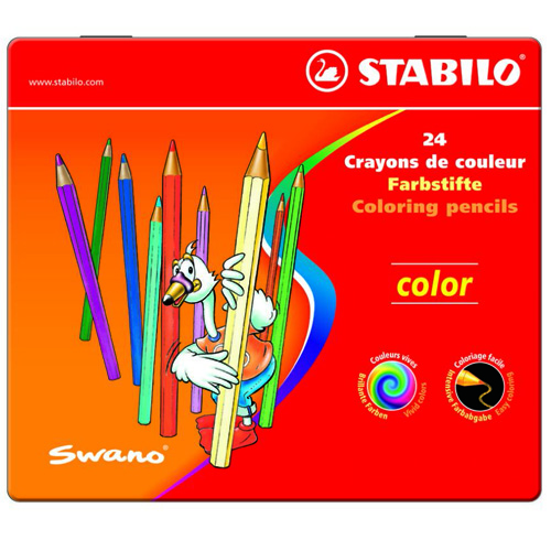 Creioane Colorate Color 24 Bucati