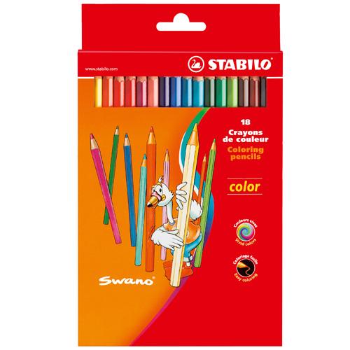 Creioane Colorate Color 18 Bucati