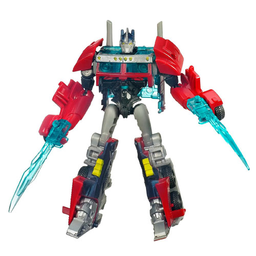 Figurina Transformers Prime Nightwatch Optimus Prime