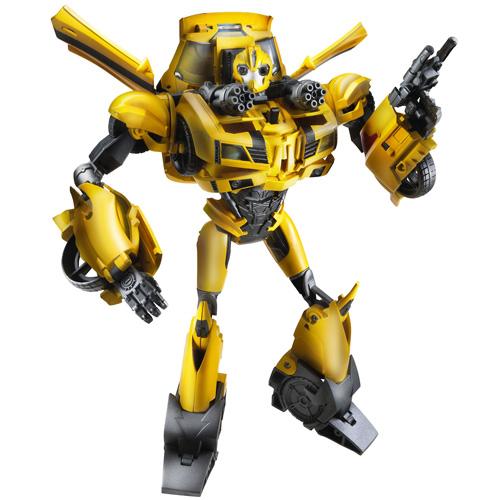Figurina Transformers Prime Weaponizer Bumblebee