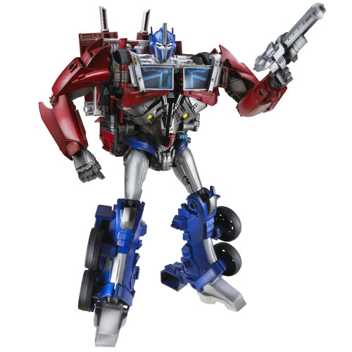 Figurina Transformers Prime Weaponizer Optimus Prime