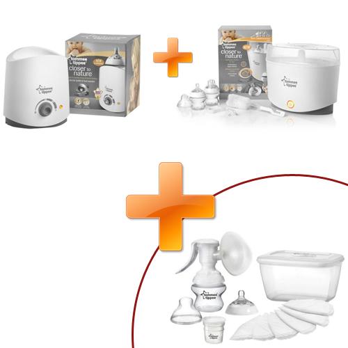 Sterilizator Electric + Incalzitor Electric + Pompa Manuala CADOU