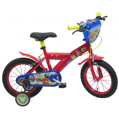 Bicicleta Mickey Mouse 14