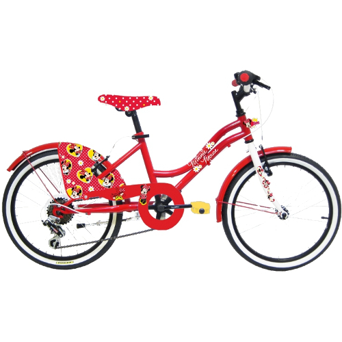 Bicicleta Minnie Mouse 20