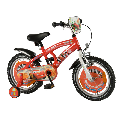 Bicicleta Disney Cars 16
