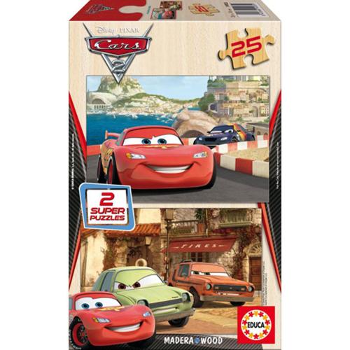 Puzzle Cars 2 - 2 x 25