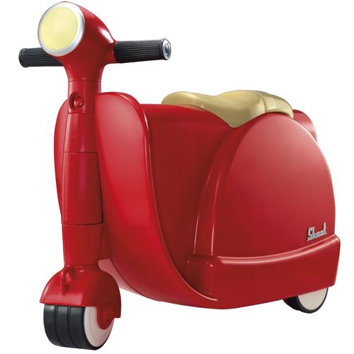Valiza Tricicleta Red