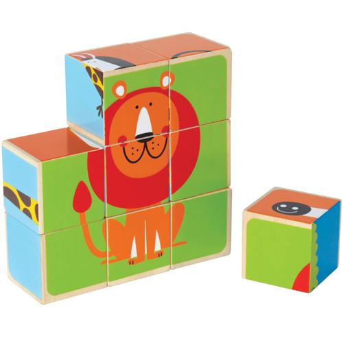 Puzzle Cubic Animale de la Zoo