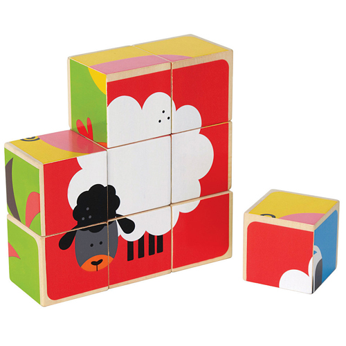 Puzzle Cubic Animale de Casa