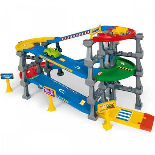 Kid Cars 3D Garaj pe 5 Nivele