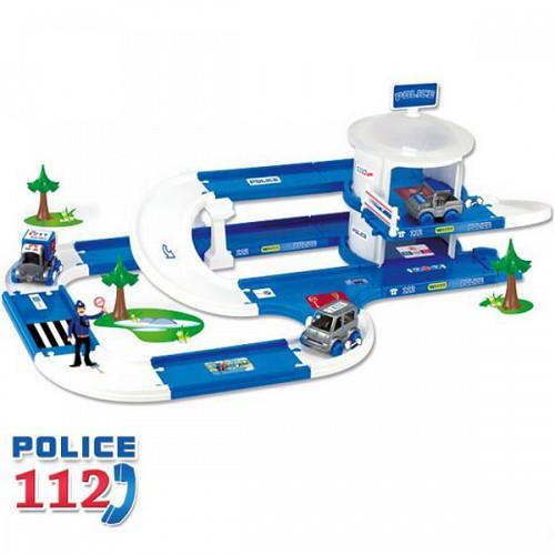 Kid Cars 3D Garaj pentru Politie