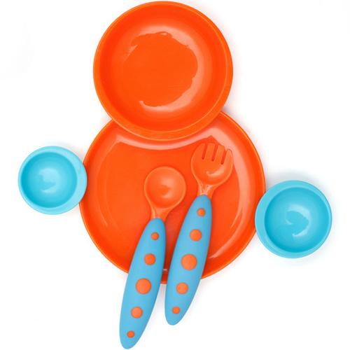 Set Farfurie Groovy si Tacamuri Modware Orange
