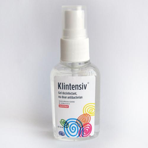 Klintensiv - Spray Dezinfectant pentru Maini