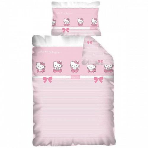 Lenjerie de Pat Hello Kitty 100 x 135 cm HK05DC