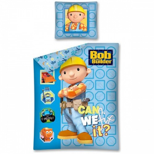 Lenjerie de Pat Bob the Builder 160 x 200 cm