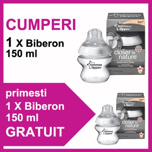 Biberon 150 ml + Biberon 150 ml PROMO