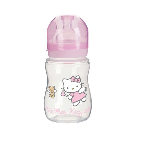 Poza Biberon Plastic Hello Kitty 240 ml T.S