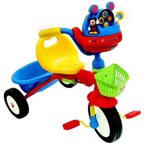 Tricicleta Pliabila Interactiva Mickey Mouse