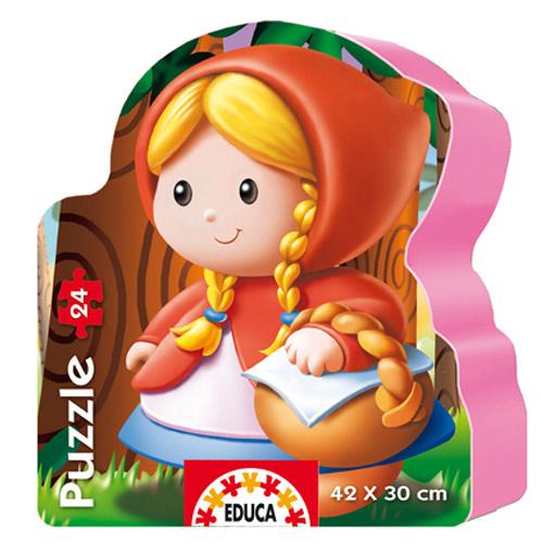 Puzzle Scufita Rosie 24 piese