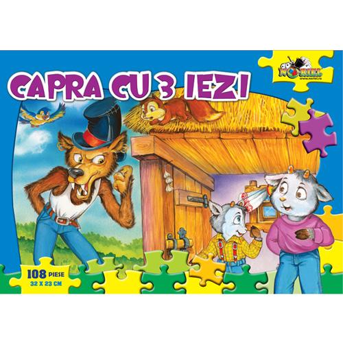Puzzle Capra cu Trei Iezi 108 Piese