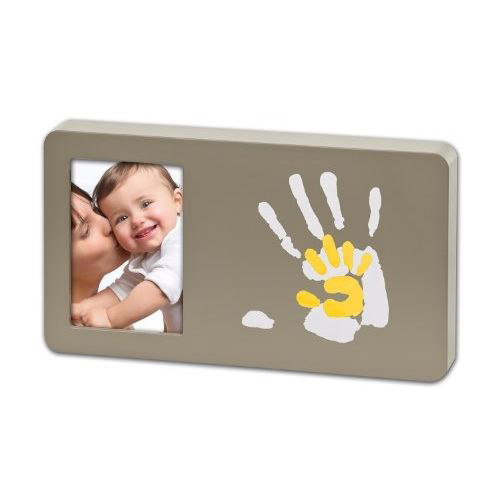 Duo Paint Print Frame Taupe And Sun