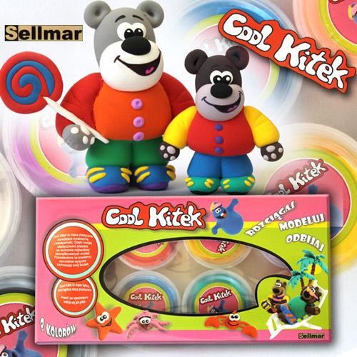 Set Plastelina Cool Kitek 8 buc