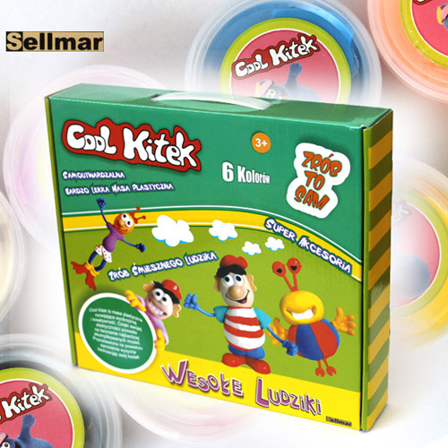 Set Plastelina Cool Kitek Funny People