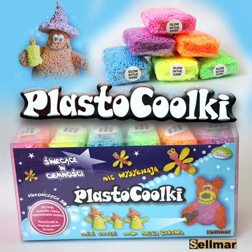 Bilute Modelatoare PlastoCoolki Glow Dark