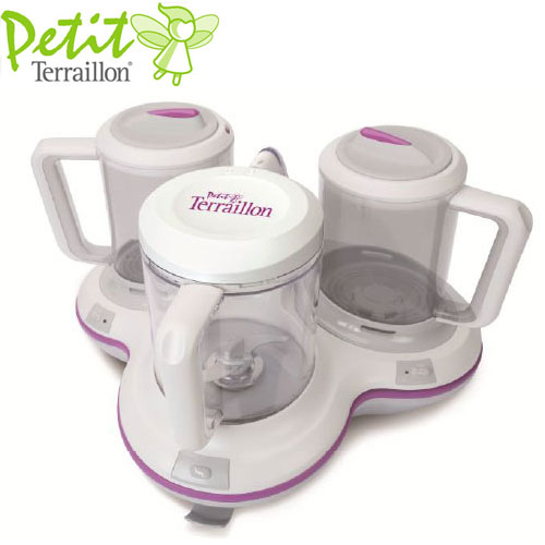 Robot Multifunctional Petit Gourmet Style Cream Purple