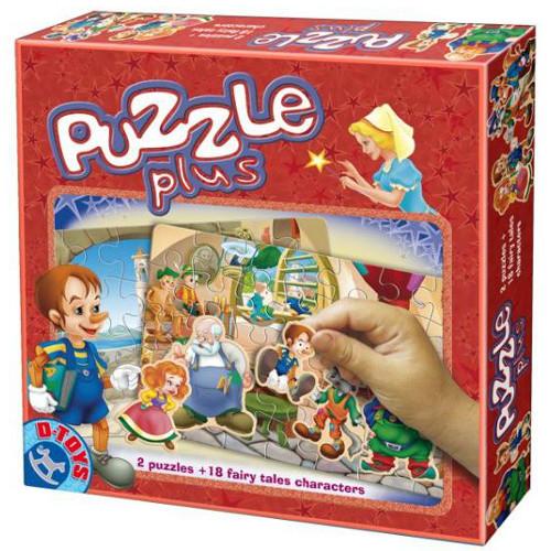 Puzzle Plus Pinocchio
