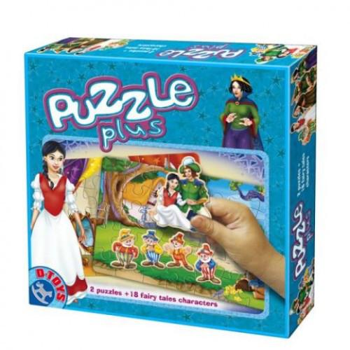 Puzzle Plus Alba ca Zapada