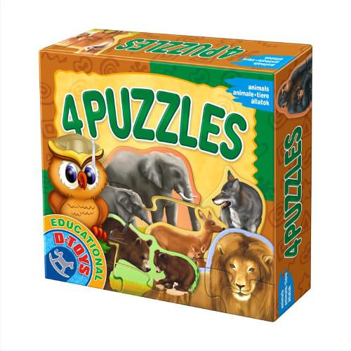 4 Puzzle - Animale Salbatice