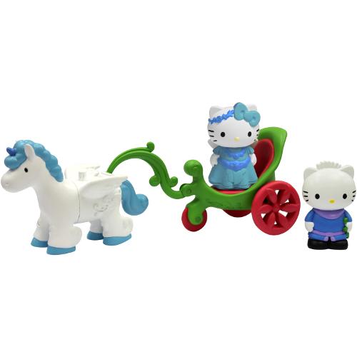 Set Trasura cu Unicorn Hello Kitty