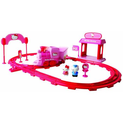 Set Tren Expres Hello Kitty